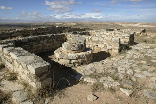 Vista parcial del poblado.