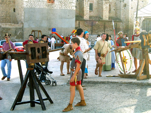 Máquinas de guerra en el Seidesken 2006. Jornada Ibera de Azaila.