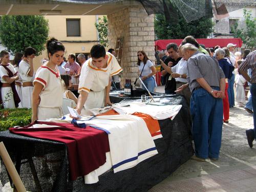 Artesanía en el Seidesken 2006. II Jornada Ibera de Azaila.