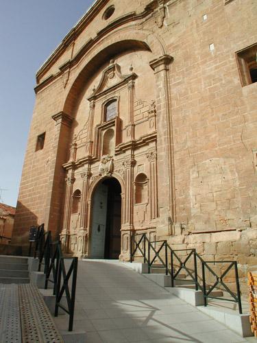 Iglesia parroquial de La Puebla.