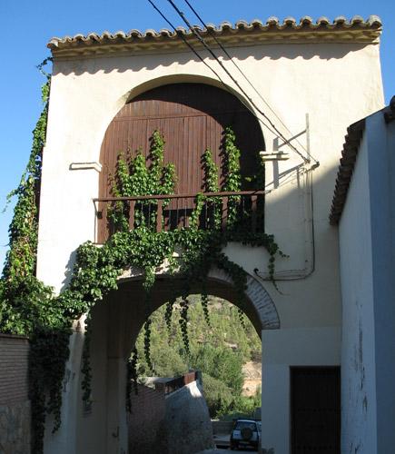 Arco de La Virgen.