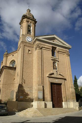 Iglesia parroquial de San Pedro Mártir.
