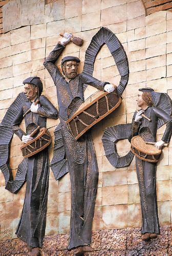 Monumento al tambor y el bombo de Samper.