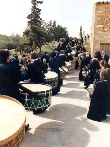 Procesión del Viacrucis en Albalate.