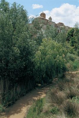 El Río Martín a su paso por Castelnou.