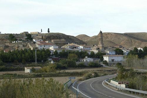 Casco urbano de Jatiel.