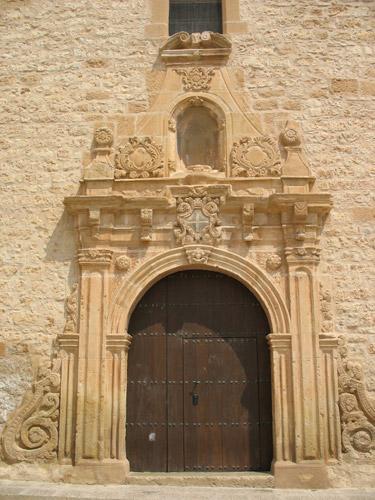 Detalle de la Iglesia.