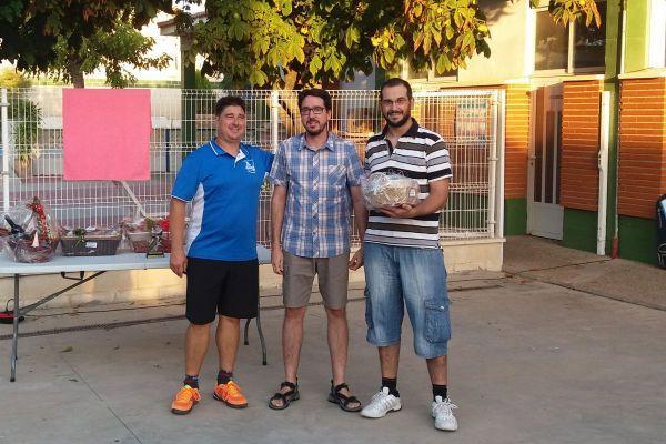 4º Roger Balfagón y Sergio Valero