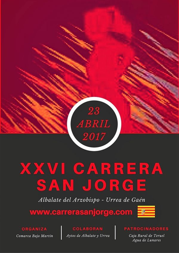 Cartel Carrera San Jorge 2017