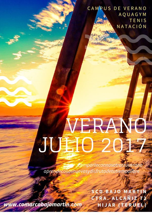 ACTIVIDADES DEPORTIVAS DE VERANO 2017