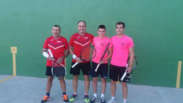Finalistas torneo Intercomarcal 2017