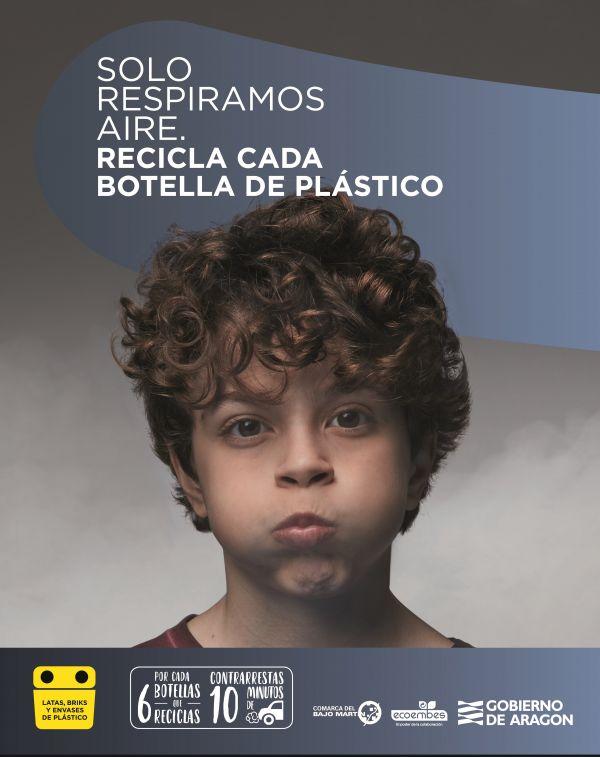 Cartel 'Recicla y Respira'