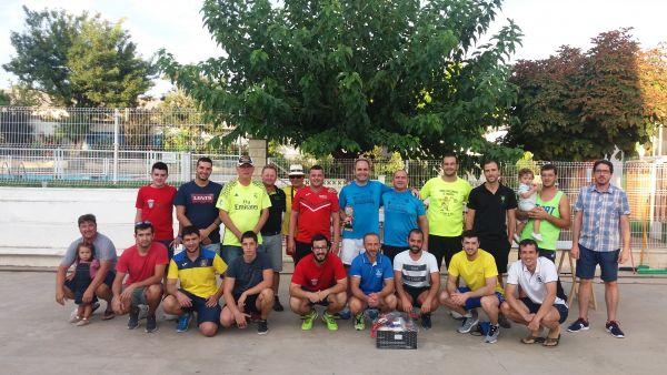 Foto gral participantes torneo Frontenis
