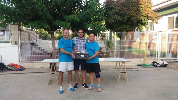 Campeones Cpto intercomarcal Frontenis 2018
