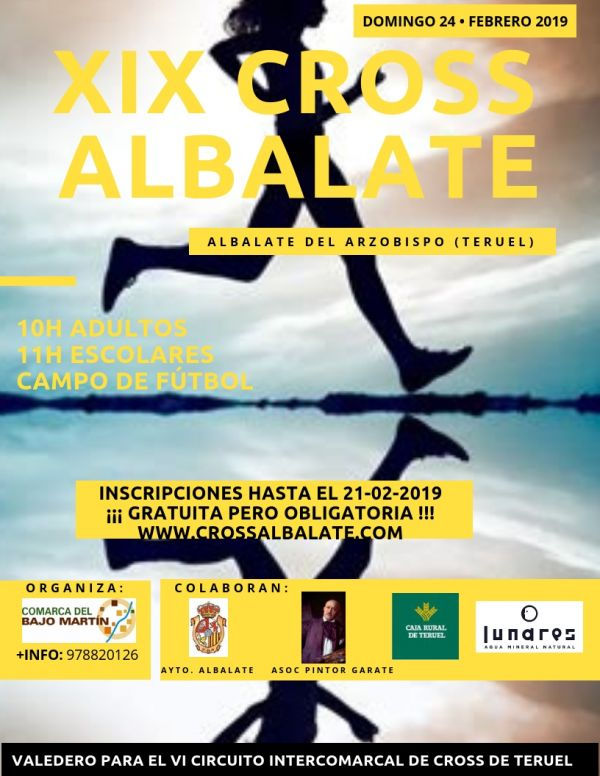 CARTEL CROSS ALBALATE