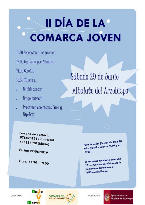 CARTEL II DÍA DE LA COMARCA JOVEN