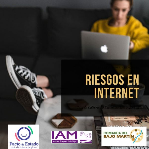 Cartel Riesgos en Internet Albalate
