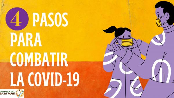 4 pasos para prevenir la COVID 19