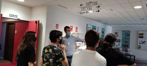 Visita a las instalaciones del Balneario de Ariño