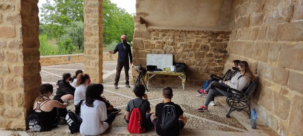 Charla medio ambiental con Ricardo de KARALOM