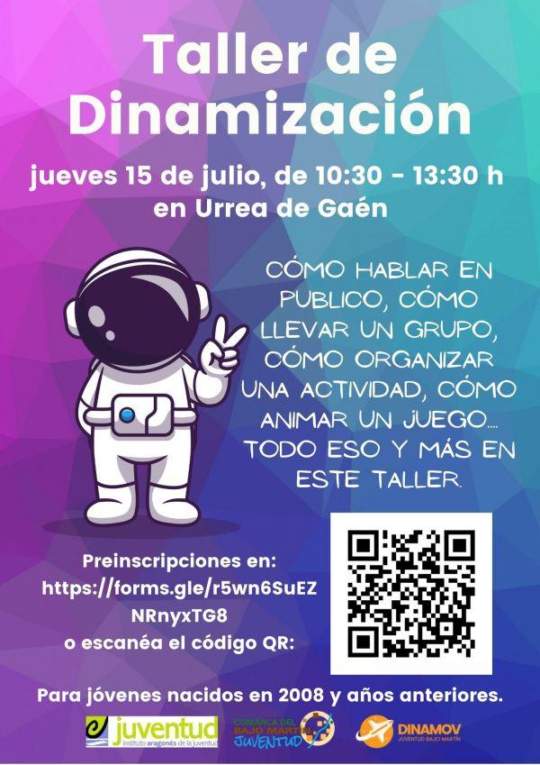 Cartel del Taller de Dinamización.