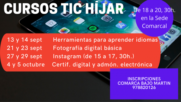 Cursos TIC Híjar