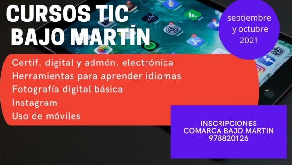 Cursos TIC Bajo Martín