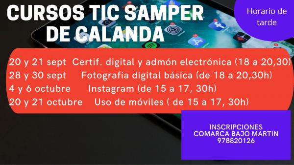 Cursos TIC Samper