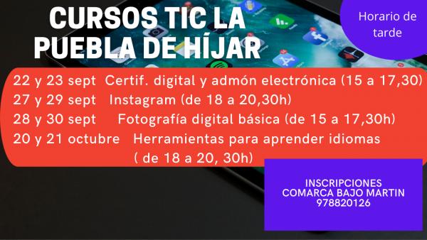Cursos TIC La Puebla