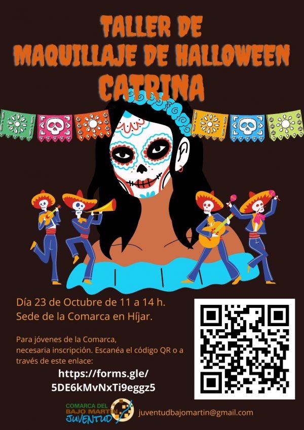 Taller de Maquillaje de Halloween-Híjar